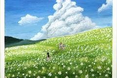 Girl at grassland 2020-01-03